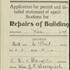 Building Permits example.