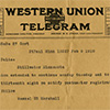 Telegrams example.