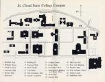 St Cloud Campus Map.Campus Map St Cloud State University St Cloud Minnesota